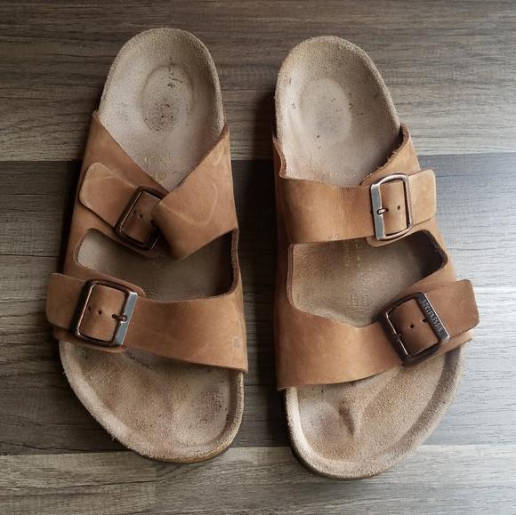 9c9fdd0743b Birkenstock Other - Birkenstock Arizona Nubuck Leather Sandals